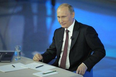 Владимир Путины на прямой линии