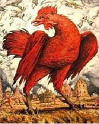 Красный петух - символ 2017 года