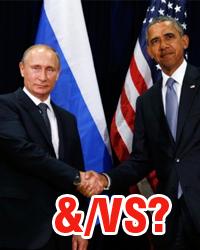 Путин &/vs Обама
