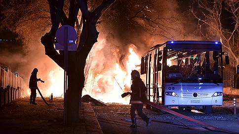 Теракт у Генштаба Турции