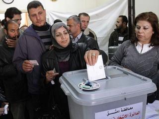 На сирийском избирательном участке 2014